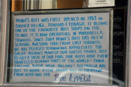 The story of Mona's captured on a board. Step inside to taste a real piece of history.