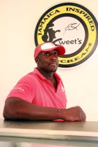 Claude Fearon, owner of JR Sweet's Jamaican Ice Cream